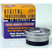 Digital Concepts 2 x 52mm Professional High Speed Auto Focus DeluxeSuper Telephoto Lens