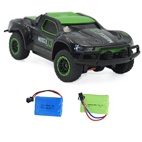 - Blomiky 4WD 9MPH High Speed Racing RC Car 1:43 Scale 2.4G 4WD Electric Small Remote Control Vehicle D143 Green Black