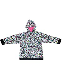 Western Chief Kids Lined Rain Coats (4T, Cutie Leopard)