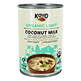 Koyo Organic Coconut Milk - Light - Case of 12 - 13.5 oz.