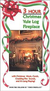 Amazon.com: 3 Hour Christmas Yule Log Fireplace Video [VHS]: Steve ...
