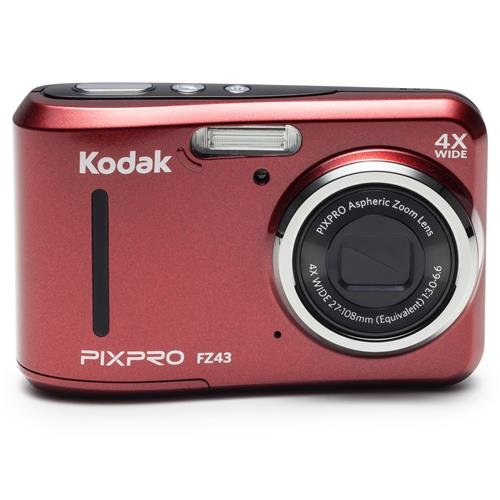 kodak-pixpro-friendly-zoom-fz43-16-mp-digital-camera-with-4x-optical-zoom-and-27-lcd-screen-red