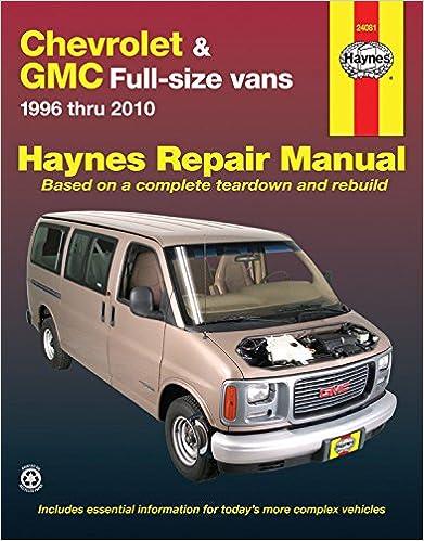gmc savana 2500 repair manual