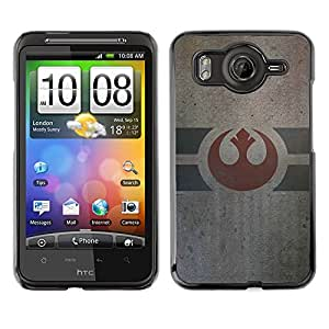 LECELL--Funda protectora / Cubierta / Piel For HTC G10 -- Army Of Alliance --