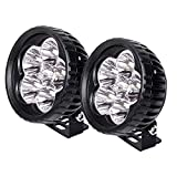 4 inch off road fog light - JAHURD LED Light Bar 18W Spot, 2 PCS 3