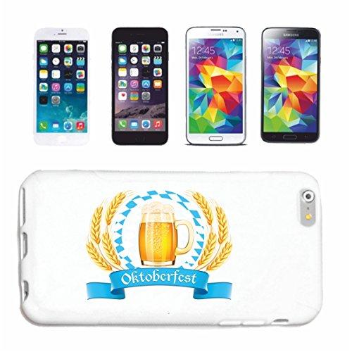 caja del teléfono iPhone 7S Oktoberfest Wiesn Licenciatura parque de atracciones Hofbräu Reeperbahn Caso duro de la cubierta Teléfono Cubiertas cubierta para el Apple iPhone en blanco