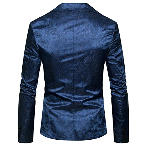 Invachi Uomo Blazer Invachi Blazer Nero blu R0vFWqw
