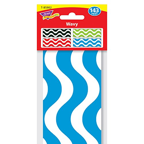 Trend Enterprises Wavy Terrific Trimmer & Bolder Border Variety Pack (T-85902) Photo #3