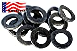 Backyard Dudes® Garden Hose Heavy Duty Rubber Washer 12 pack MADE IN USA used by Aero Space & Aircraft OK washing machine hot water & outdoor garden hose temp -45