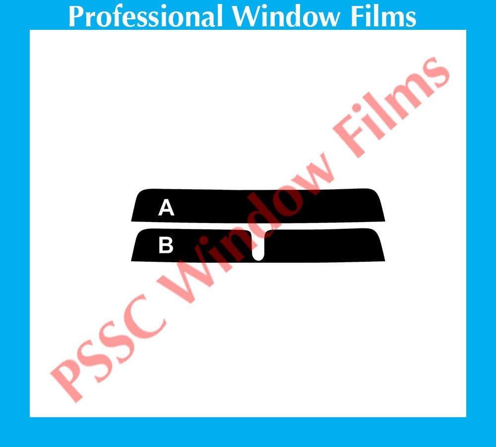 PSSC Pre Cut Sun Strip Car Window Films for Jaguar X-Type 2001 to 2009 20/% Dark Tint