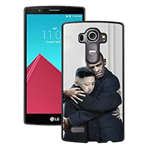 LG G4 Obama And Kim Jong-Un Hug Black Screen Phone Case Attractive and Hot Sale Design