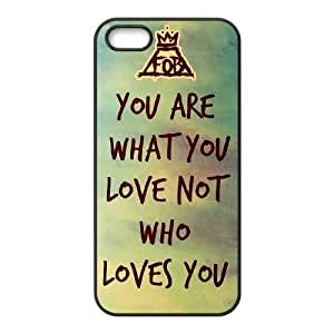 YUAHS(TM) Unique Phone Case for Iphone 5,5S with Fall Out Boy YAS882075