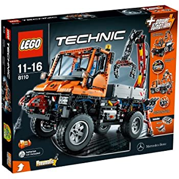 lego technic unimog u400 8110 toys games. Black Bedroom Furniture Sets. Home Design Ideas
