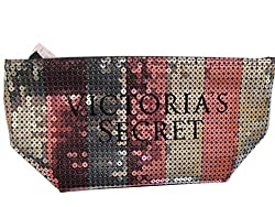 Bling Sequin Stripe Make-Up Cosmetic Bag