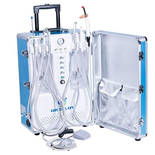[해외]공기 압축기 흡입 시스템 트리플렉스 주사기를 가진 BoNew 휴대용 단위 터빈 / BoNew Portable Unit Turbine with Air Compressor Suction System Triplex Syringe