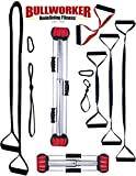 Bullworker Pro System - Iso-Motion© Movement Performance - Full Body Workout - Portable Home Gym Isometric Exercise Equipment for Fast Strength Training Gains. Complete Cross Training Travel Fitness