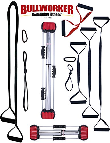 Bullworker Pro System - Iso-Motion© Movement Performance - Full Body Workout - Portable Home Gym Isometric Exercise Equipment for Fast Strength Training Gains. Complete Cross Training Travel Fitness by Bullworker