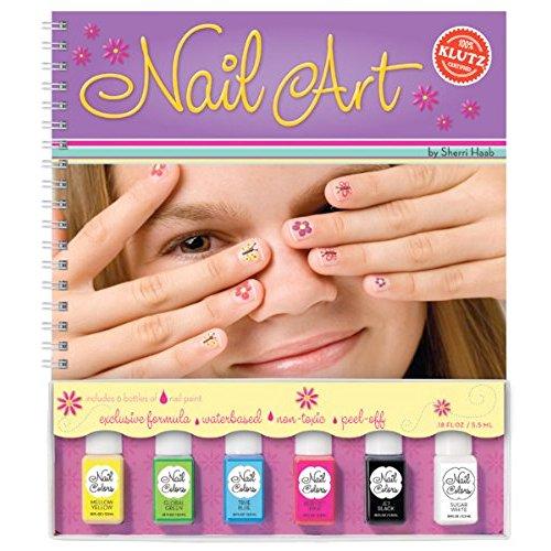 klutz-book-nail-art