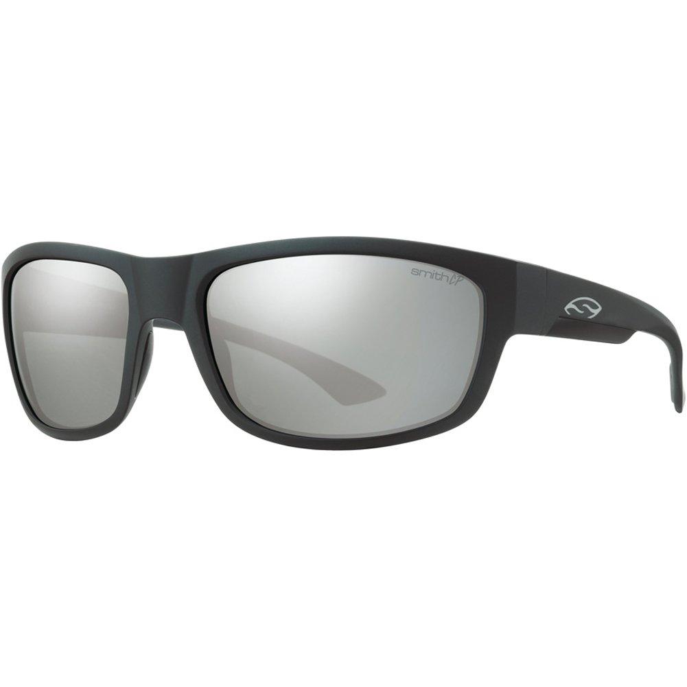 Smith Dover Sunglasses - Polarized ChromaPop Matte Black/Platinum, One Size