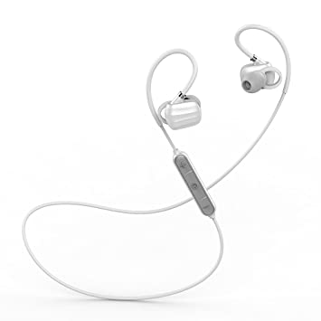 Auriculares Bluetooth Inalámbricos Deportivos, Auriculares In-Ear con micrófono Mano Libre, Auriculares estéreo para Correr, Compatible conmóvil iPhone Sony ...