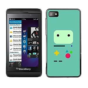 EJOY---Cubierta de la caja de protección la piel dura para el / Blackberry Z10 / --Controlador de juegos minimalista
