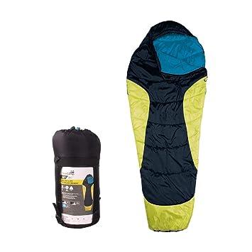 AceCamp Micro Lite Terrain Momia Saco de Dormir Saco de Incluye Pack, 3 Estaciones para