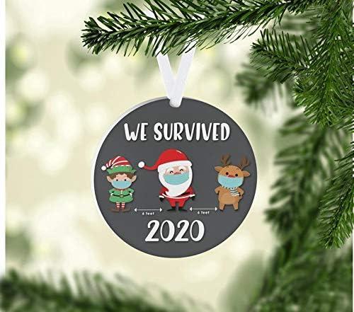 The World Covid-19 Christmas Tree Ornament Coronavirus Corona Virus vs
