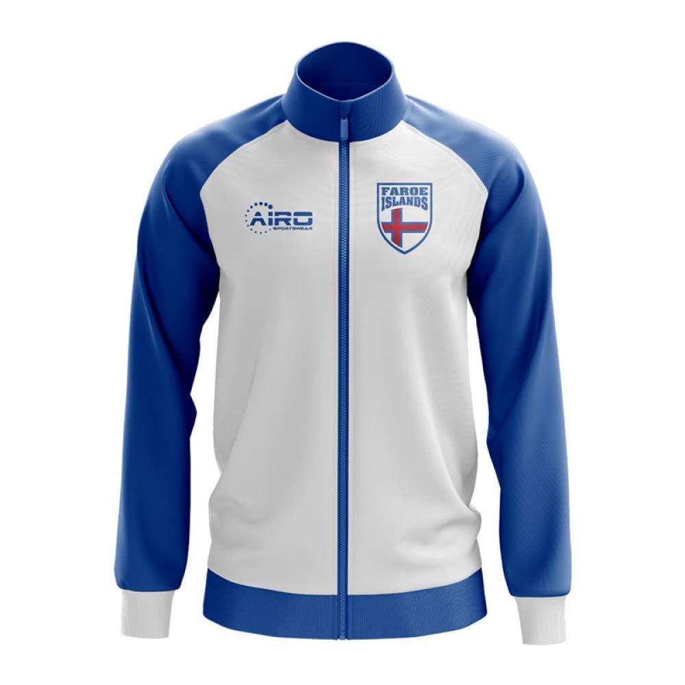 Airo Sportswear Faroe Islands Concept Football Track Jacket (Weiß)