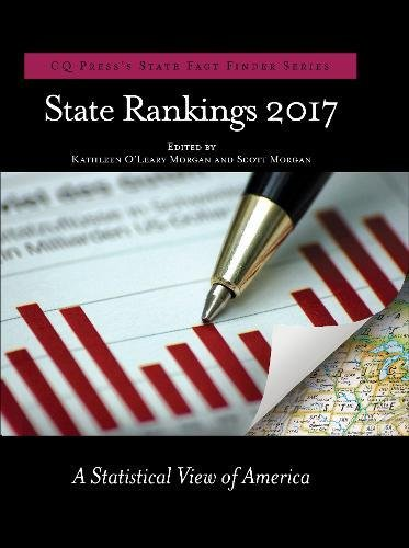 State Rankings 2017: A Statistical View of America (CQ Press's State Fact Finder)