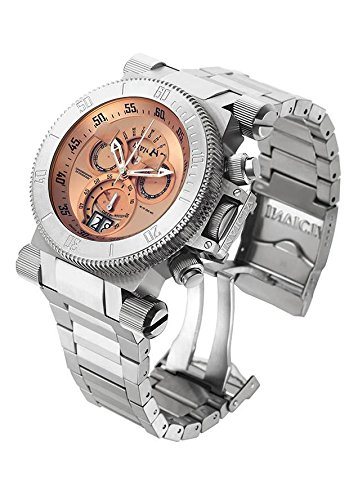 invicta-coalition-forces-chronograph-rose-dial-stainless-steel-mens-watch-17641