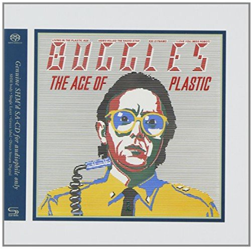 SACD : Buggles - Age Of Plastic (Japanese Mini-Lp Sleeve, Super-High Material CD)