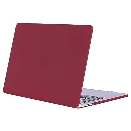MOSISO Funda Dura Compatible con 2019 2018 2017 2016 MacBook Pro 15 con Touch Bar A1990 A1707 USB-C, Ultra Delgado Carcasa Rígida Protector de ...