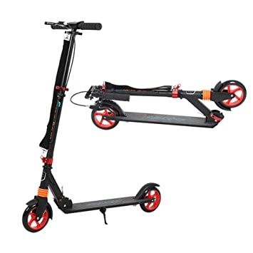 MFZTQ Patinete Adulto,Plegable City Kick Scooter Big Wheel ...