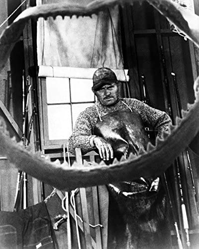 Erthstore Robert Shaw 8x10 Photograph Tough as Quint from Jaws