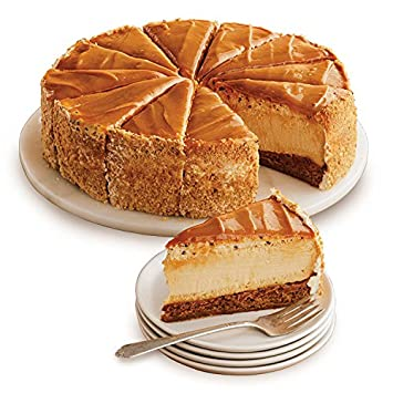 Harry & David The Cheesecake Factory Salted Caramel Cheesecake (10 Inches)