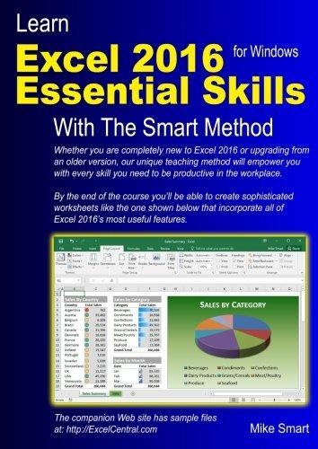 Learn Excel Essential Skills Method product image
