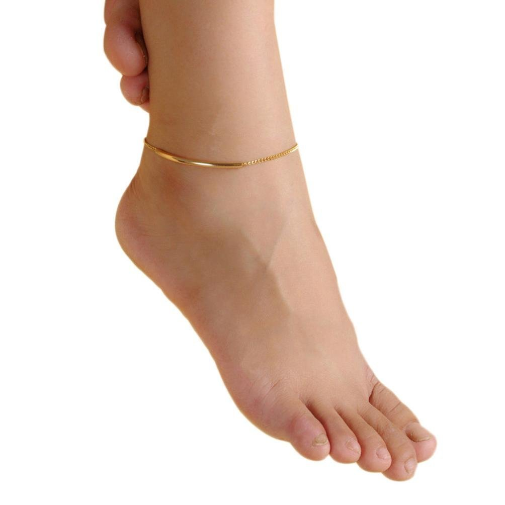 Fulltime(TM) Chain Anklet Foot Beach Sandal Barefoot Jewelry Ankle Bracelet