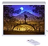 Vibes Genius 913US Papercut Light Boxes, Decor Light of 13 to 19 Years Old Teen Girl Style, Gift Idea for Sister, Daughter, Niece, Cousin, Quinceanera or Birthday (Dont Let Anyone Dull Your Sparkle)