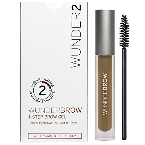 WUNDER2 WUNDERBROW Long Lasting Eyebrow Gel for Waterproof Eyebrow Makeup, Blonde Color