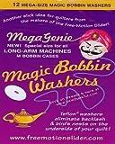 sewing genie - LaPierre Mega Magic Bobbin Washers ~ Mega Magic Bobbin Genies ~Size M Bobbin ...