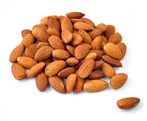 Almonds Whole - Roasted Unsalted - 5 Pounds - We Got Nuts (Almonds Whole Roasted)