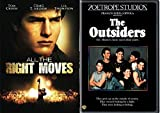 All the Right Moves & The Outsiders DVD 80's Movie Bundle Double Feature Set