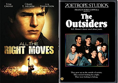 All The Right Moves   The Outsiders Dvd 80S Movie Bundle Double Feature Set