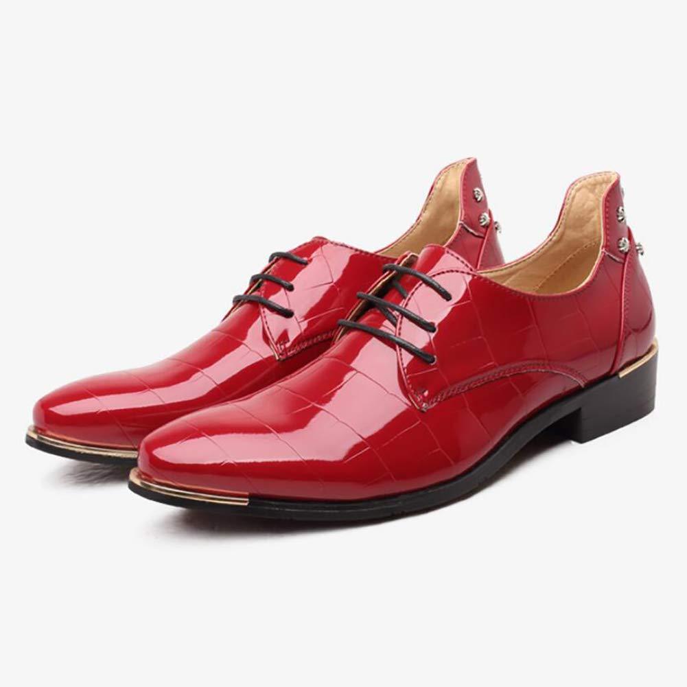 Herren Formelle Schuhe Mikrofaser Frühjahr/Herbst Business/Komfort Oxfords Schwarz/Rot / Royal Abend Blau/Hochzeit / Party & Abend Royal ROT 3d71bb