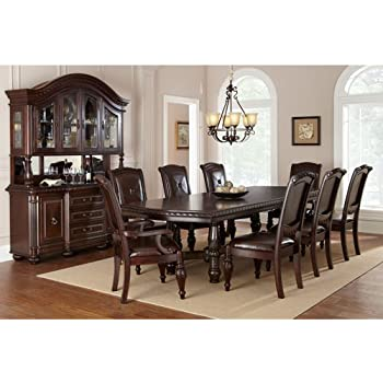 Lovely Addison 10 Piece Dining Set With Buffet/Hutch