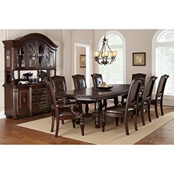 High Quality Addison 10 Piece Dining Set With Buffet/Hutch