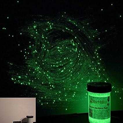 Vernici Fluorescenti Per Pareti.Stickerslab 1kg Vernice Fosforescente Fotoluminescente Si Illumina