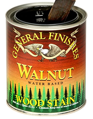 General Finishes Water Based Stain Walnut Gallon (Walnut Gallon)
