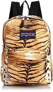 JanSport Superbreak Backpack, Multi Tiger Lily