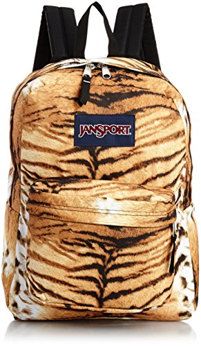Tiger Backpack - JanSport Superbreak Backpack, Multi Tiger Lily